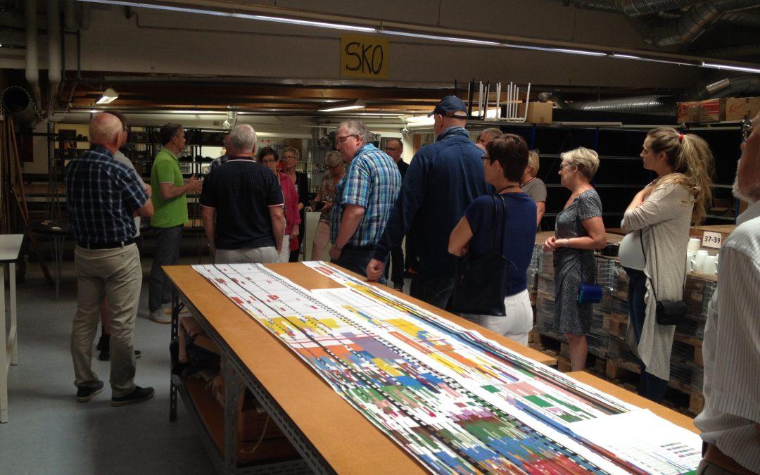 Besøg på strømpefabrikken mp danmark