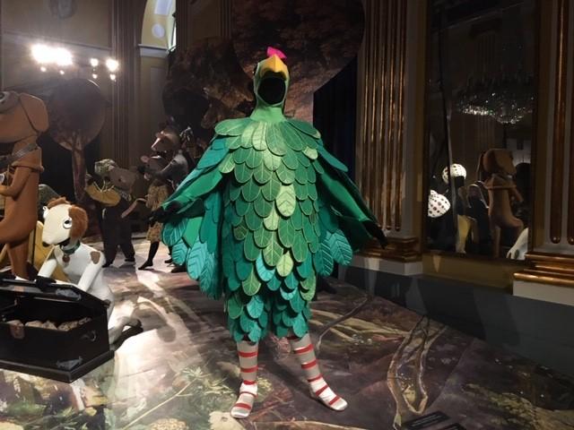 Billeder fra dronningens kostumeudstilling