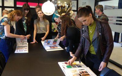 Besøget hos Dansk Mode og Textil
