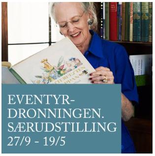 Textilforeningen inviterer til besøg på Amalienborg med Eventyrdronningen